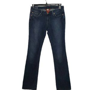 LUCKY BRAND blue Lola low rise boot cut jean 29